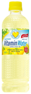 Suntoryvitaminwaterbottle91