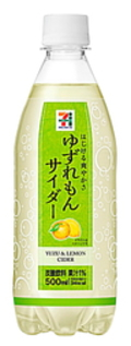 Asahiyuzulemoncider711bottle